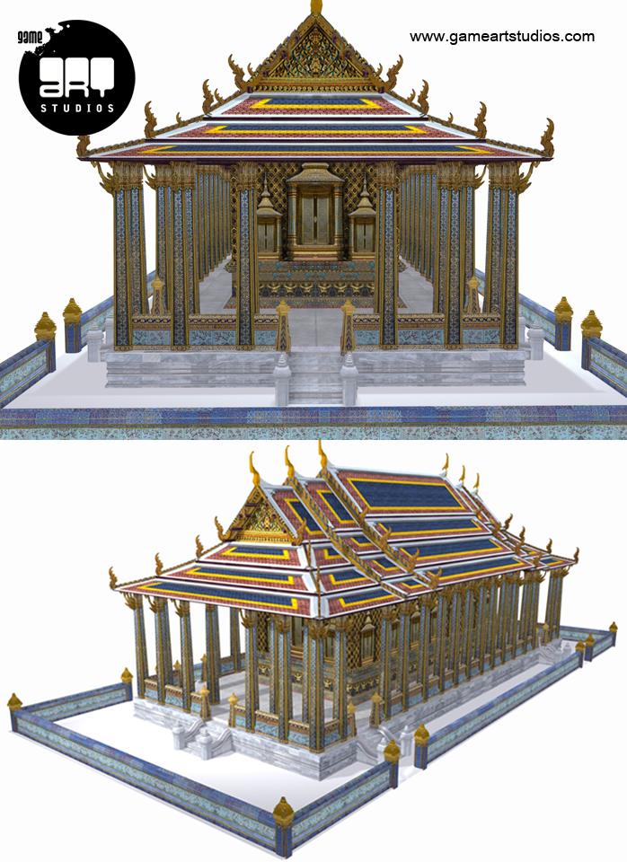 3d-environment   Game Art Studios   Artwork Studio   3D Modeling